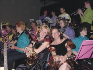 Big Band Concordia in prachtige kleding