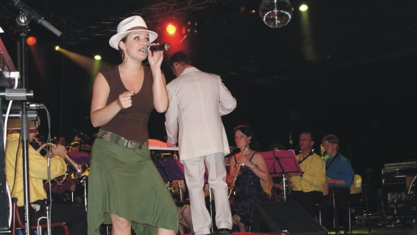 Linda Smeets en fanfare Concordia