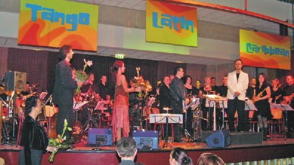 Colours of Music 2006: Bloemen voor Gerard, Linda en Maurice (18112006)