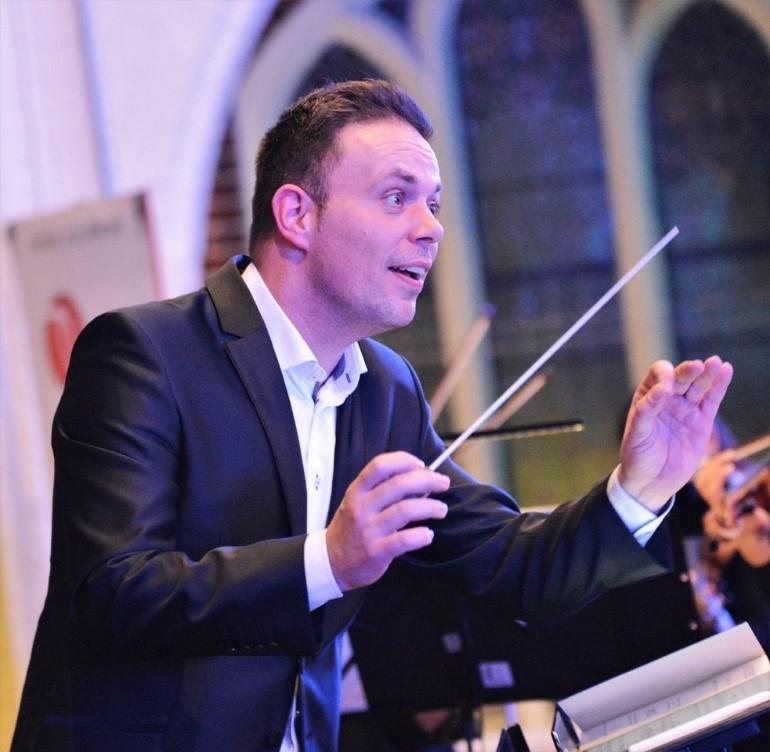 Dirigent Martijn Pepels